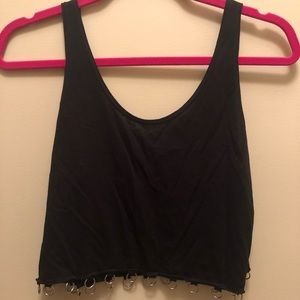 Tops - O-ring chain tank top